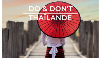 Do & don't Thailande